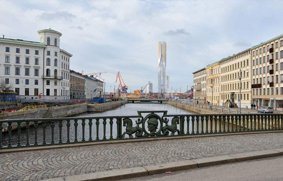 SOM İsveç'in En Yüksek Binasını Yapacak